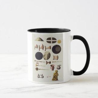Mug Outils d'Inca et objets façonnés, Pérou, de 'Le