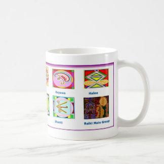 Mug Outils principaux de Reiki - dons des symboles n