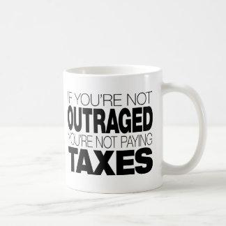 Mug Outragé aux impôts