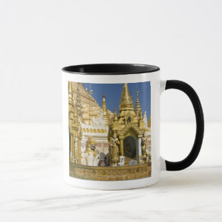 Mug Pagoda de Shwedagon (Paya), grand site de temple