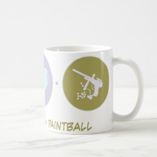 Mug Paintball d'amour de foi