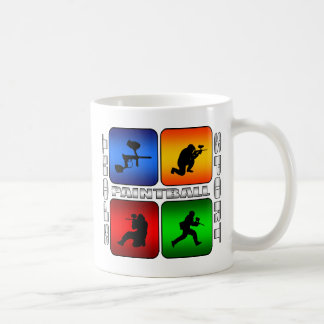 Mug Paintball spectaculaire