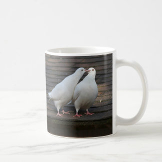 Mug Paires de colombes blanches