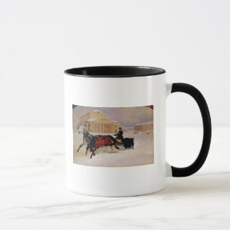 Mug Paires de Polonais avec un cheval de trace chez