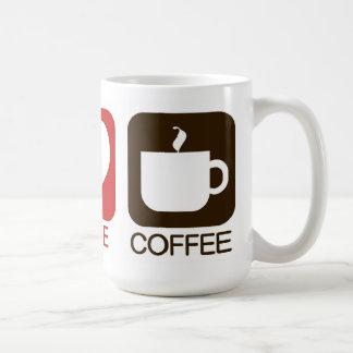 MUG PAIX, AMOUR, CAFÉ
