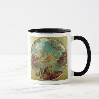 Mug Paix descendant à la terre
