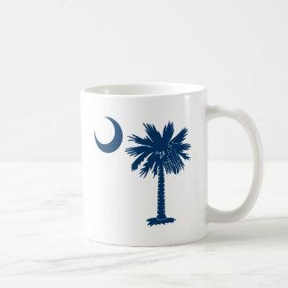Mug Palmetto bleu
