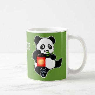 Mug Panda avec la lanterne