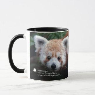 Mug Panda rouge de Smithsonien |