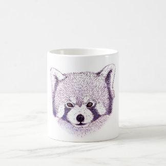Mug panda roux