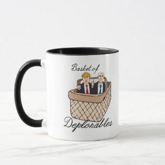 Mug Panier de Deplorables - penny d'atout --