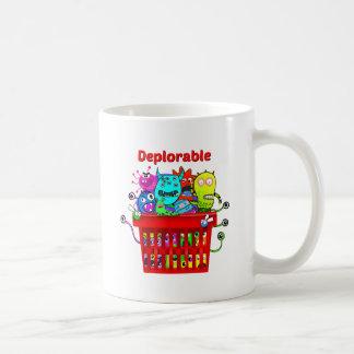 Mug Panier de Deplorables pour la campagne d'atout