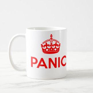Mug PANIQUE : Gardez le calme et continuez charrient