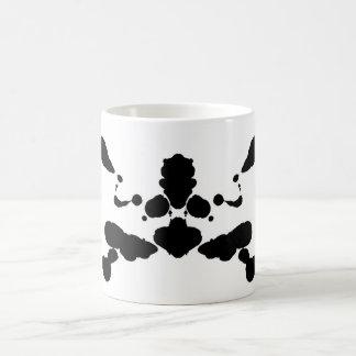 Mug panneau abstrait Rorschach de test psychologique