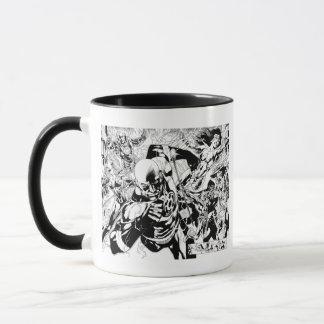 Mug Panneau comique de la nuit la plus noire