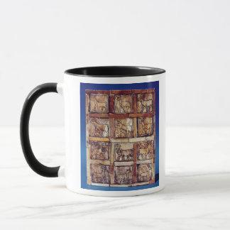 Mug Panneau de jeu, animaux du champ et forêt