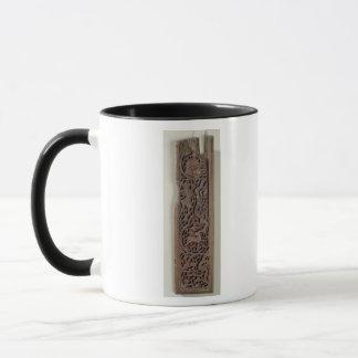 Mug Panneau découpé décoré d'un joueur de luth