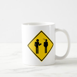 Mug Panneau routier de rot