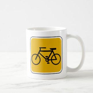 Mug Panneau routier vintage de vélo