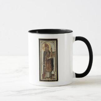 Mug Panneau votif dépeignant St Ansgar, 1457