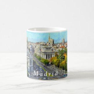 Mug Panorama d'automne de Madrid