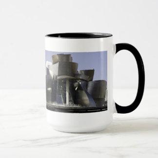 Mug Panorama de musée de Guggenheim