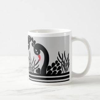 Mug paon noir