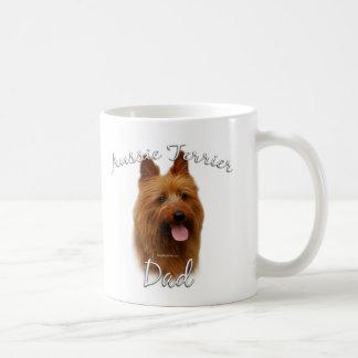 Mug Papa 2 de Terrier australien