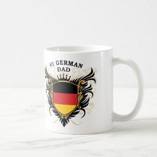 Mug Papa allemand du numéro un