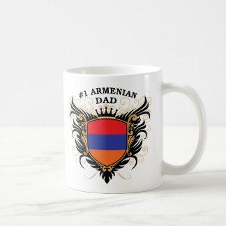 Mug Papa arménien du numéro un
