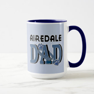 Mug PAPA d'Airedale