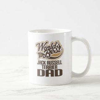 Mug Papa de Jack Russell Terrier (mondes meilleurs)