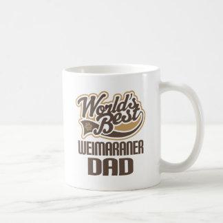Mug Papa de Weimaraner (mondes meilleurs)