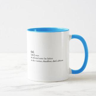Mug Papa - définition de dictionnaire