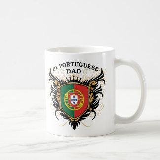 Mug Papa portugais du numéro un