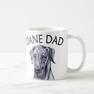 Mug Papa UC bleu de great dane