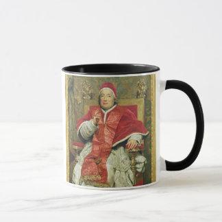 Mug Pape Clement XIII (1693-1769) (huile sur la toile)
