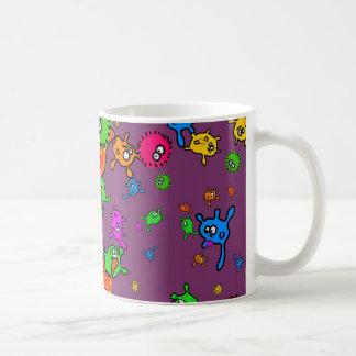 Mug Papier peint de bactéries