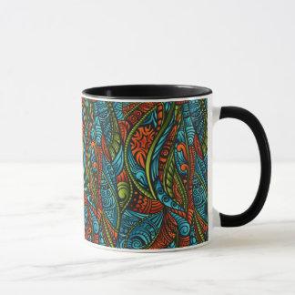 Mug Papier peint ethnique abstrait