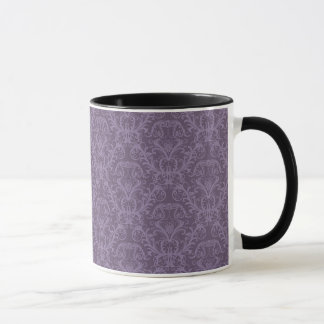 Mug Papier peint pourpre de luxe