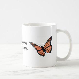 Mug Papillon de monarque avec le Milkweed