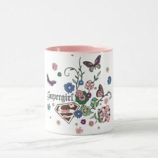 Mug Papillons de Supergirl