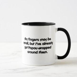 Mug Papou enveloppé