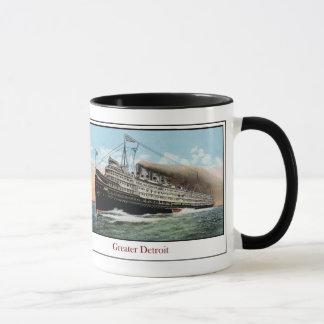 Mug Paquebot plus grand Detroit