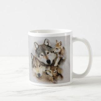 Mug paquet de loups