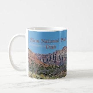 Mug Parc national de Zion de montagne