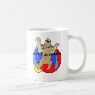 Mug Paresse d'action colorée