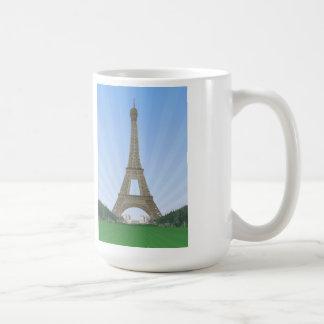 Mug Paris : Tour Eiffel : Dessin de vecteur :