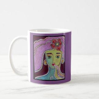 Mug Parlez la déesse de sagesse, art original