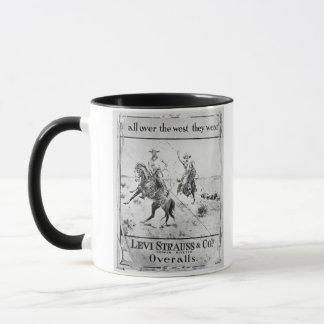 Mug Parlez pour Lévi Strauss et Co, c.1900 (le litho)